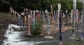 宮城県白石市の材木岩公園で鯉のぼりを空撮しました (無風) 50808217