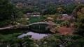日本庭園の木でできたアーチ状の橋が有名な香川県の栗林公園 50826669