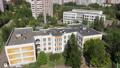 The Cityscape in Moscow from above, school and kindergarten. Russia 50846994