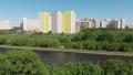 The Cityscape of Levoberezhnyy district in Khimki city. Russia 50854421