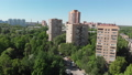 The Cityscape in Khimki city from above. Russia 50854462