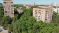 The Cityscape in Khimki city from above. Russia 50854464
