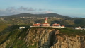 Aerial view of lighthouse at Cape Roca in Portugal 50958050
