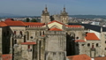 Aerial view of old historic town Viseu in Portugal 50958051