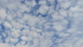 Time lapse of cumulus clouds against a blue sky. 51901781