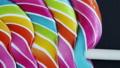 Background of striped spiral multicolor Lollipop 52545440