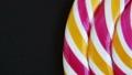 Background of striped spiral multicolor Lollipop 52545494