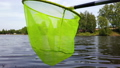 fishing net green spinning in the wind 52586482