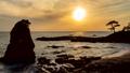 横須賀市秋谷立石海岸から富士山に沈む夕日Timelapse-DF固定版 52882382