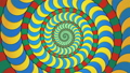 サイケデリックな幾何学模様の渦 ループ 53234672