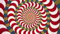 サイケデリックな幾何学模様の渦 ループ 53234673