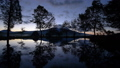 Mount Fuji reflected in pond of dawn 53314983