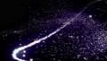 キラキラ光り輝く流れ星 ループ 53671575