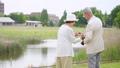 Senior couple travel camera couple image 53694026