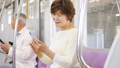 高級女子火車智能手機合作:京王電鐵有限公司 53705232