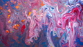 Art of acrylic color movement slow motion 53711401