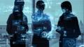 ビジネス シルエット テクノロジーの動画 53752671