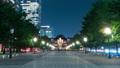 東京駅前の夜景・タイムラプス 53870052