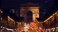 Night Car Traffic on the Champs Elysees 54038876