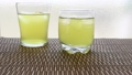 お茶 緑茶 玉露 新茶 夏 氷 アイス ソフトドリンク 飲み物 ドリンク 冷たい 季節 54069642