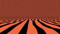 Beautiful Studio Curved Bands of Orange Tint 54108294