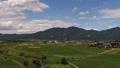 新緑の加波山、麓の水田 54114146