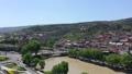 Tbilisi city. Aerial view. Fortress Narikala  54175853
