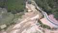 large sand extraction quarries in shallow river valley 54199790