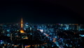 8K Tokyo Night View Timelapse 2019 A big city from Roppongi Original data / High definition 8K shooting Tilt 54205734