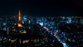 8K Tokyo Night View Timelapse 2019 A big city from Roppongi Original data / High definition 8K shooting Zoom in 54205737