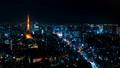 8K 도쿄 야경 타임 랩스 2019 롯폰기에서 바라 보는 대도시 원래 데이터 고화질 8K 촬영 확대 54205737