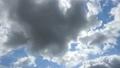空の背景素材。ダイナミックな雲。太陽の輝き。タイムラプス動画 54212482