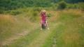 girl riding a bike 54276936