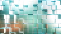 Smooth metallic square bars, loopable 3D animation 54318841