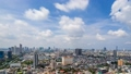 [Time lapse] Urban scenery and flowing clouds in Bangkok, Thailand 54342345