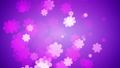 Flowers Spreading Out On Gradient Background 54365813