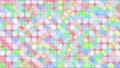 귀여운 모자이크 풍의 배경 소재 루프 ⑧ 54467305