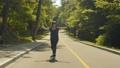 女 女性 ローラースケートの動画 54491716