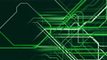 Composition of abstract moving grid lines in green 54517845