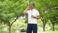 中年男子慢跑飲食圖像 54551041