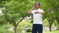 中年男子慢跑飲食圖像 54551046