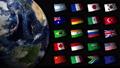 ธง G20 และโลก 54597542
