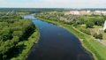 Dvina River in Polotsk (Belarus, Europe) with Cathedral of Saint Sophia 54623270