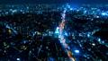 2019 東京 回転撮影 タイムラプス 渋谷 六本木方面 夜景 54656462