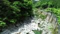 面河川의 신록 공중 촬영, 面河 블루에 빛나 54656679