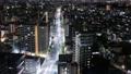 東京市視圖通往市中心的路延時縮小 54805176