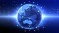 Earth CG Space โลกธุรกิจเทคโนโลยีโลกดิจิทัลระดับโลก 54844159