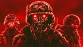 Evil zombie soldiers in helmets  55015547