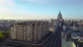Morning scene of Moscow, aerial 55055377