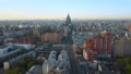 Moscow aerial scene in the morning, Russia 55055407